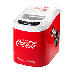 Nostalgia ICE100COKE Coca-Cola 26-Pound AutomaticIce Cube Maker