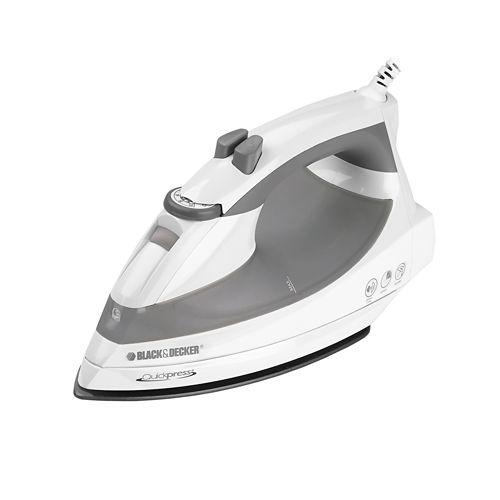 Black & Decker® Quickpress Iron with Smart Steam Technology