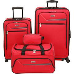 IZOD® Metro 3.0 4-pc. Expandable Spinner Upright Luggage Set