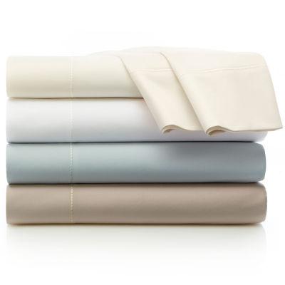 liz claiborne 600tc egyptian cotton sateen sheet sets and pillowcases