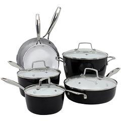 Oneida® Forged Aluminum 10-pc. Cookware Set