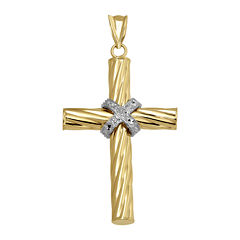Two-Tone 14K Gold Diamond-Cut