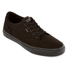 Vans® Winston Mens Mono Canvas Skate Shoes