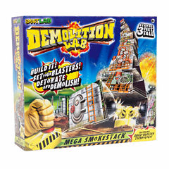 SmartLab Toys Demolition Lab - Mega Smokestack