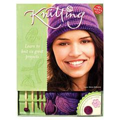 Klutz Knitting Activity Book