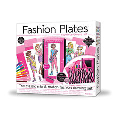 Fashion Plates Fashion Plates Superstar Deluxe Set