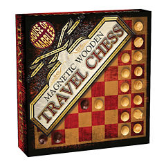 House of Marbles Magnetic Wooden Travel Chess