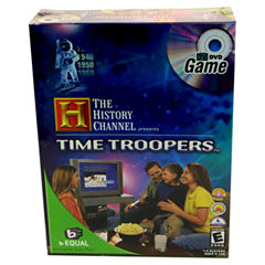 Specialty Board Games The History Channel - Time Troopers DVD Game