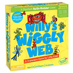 Peaceable Kingdom Willy's Wiggly Web - A Wiggly Wobbly Cutting Game