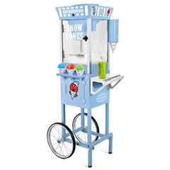 Nostalgia SCC200 53-Inch Tall Vintage Collection Snow Cone Cart