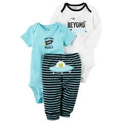 Carter's Little Baby Basics Boy Turn-Me-Around Set