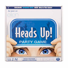 Spin Master Games Heads Up!