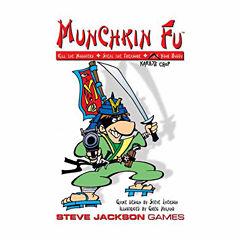 Steve Jackson Games Munchkin Fu Card Game