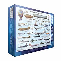 Eurographics Inc History of Aviation: 1000 Pcs