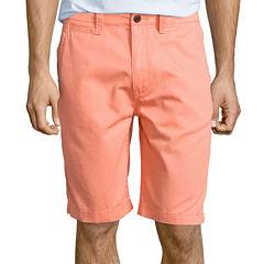 Arizona Flat-Front Shorts - 10 1/4
