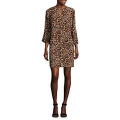 a.n.a Pattern Shift Dress