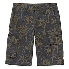 Arizona Printed Cargo Shorts - Boys 8-20, Slim and Husky