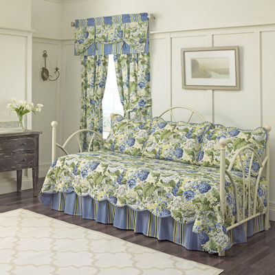 waverly floral flourish reversible 5pc daybed cover set - Daybed Cover Sets