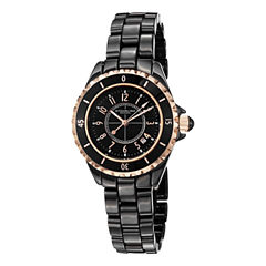 Stuhrling Womens Black Bracelet Watch-Sp12494