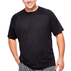 Msx By Michael Strahan Short Sleeve Crew Neck T-Shirt-Big and Tall