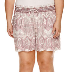 Rewash Printed Soft Shorts - Juniors Plus