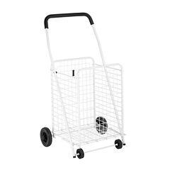 Honey-Can-Do® Jumbo Folding Rolling Utility Cart
