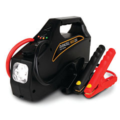 Duracell DRJS10A Portable Emergency Jump Starter (600 Amps Peak; 4 Cylinders & Below)