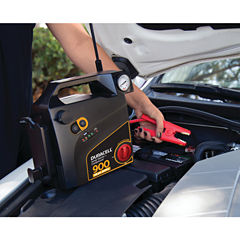 Duracell DRJS30C Jump Starter with Air Compressor(900 Peak Amps; 8 Cylinders)