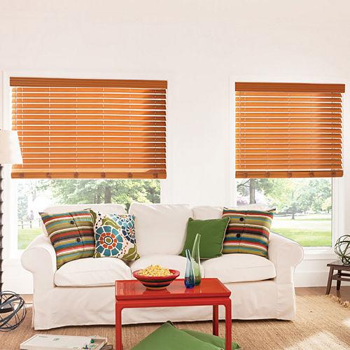 Bali® Custom 2 Premium Faux Wood Blinds