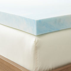 Restful Solutions Supreme 3 Inch GEL Memory Foam Topper