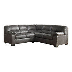 Signature Design by Ashley® Benton 2-Pc Right Arm Facing Sectional