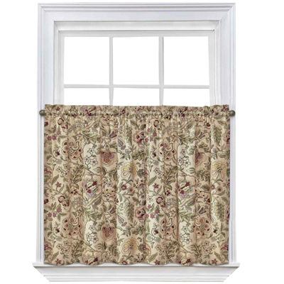 Attractive Waverly® Imperial Dress Rod Pocket Window Tiers