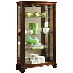 Hopkins Mantle Curio Cabinet
