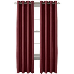 Royal VelvetR Plaza Grommet Top Lined Blackout Curtain Panel