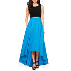 DJ Jaz Sleeveless Evening Gown