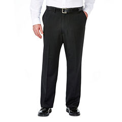 Haggar Stripe Stretch Classic Fit Suit Pants - Big and Tall
