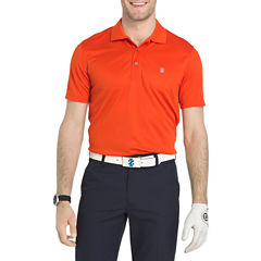 IZOD Golf Champion Grid Short Sleeve Polo Shirt