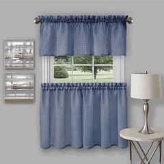 Richmond 3-pc. Rod-Pocket Kitchen Curtain Set