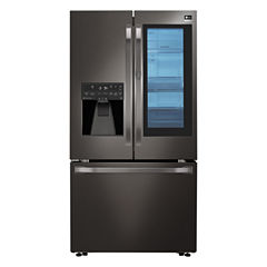 LG STUDIO 23.5 cu. ft. Counter Depth InstaView Door-in-Door Refrigerator