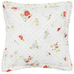 MaryJane's Home Summer Dream Square Decorative Pillow
