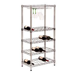 Honey-Can-Do® 5-Tier Wine Rack