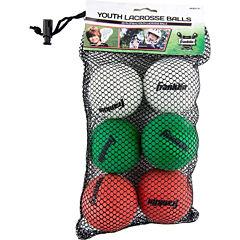 Franklin Sports 6-pk. Youth Lacrosse Balls