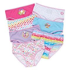 Shopkins 7 Pair Brief Panty Girls