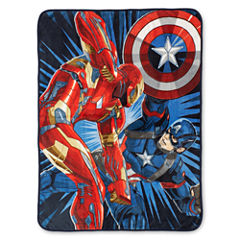 Marvel® Captain America Civil War Fleece Throw