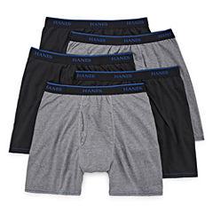 Hanes® 4-pk. ComfortBlend® Boxer Briefs + Bonus Pair