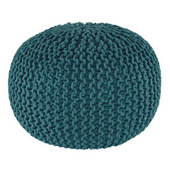Signature Design by Ashley® Nils Solid Pouf Ottoman