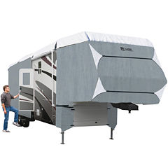 Classic Accessories 75963 PolyPro III Extra Tall 5th Wheel & Toy Hauler Cover, XT Model 5