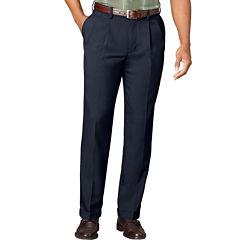 Men's Van Heusen® No-Iron Extender Pleated Pants - Big & Tall