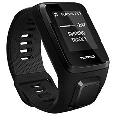 TomTom Spark 3 Large Cardio + Music Black Smart Watch-1RKM00210