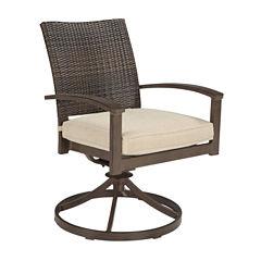 Outdoor by Ashley® Aruba Swivel Chair - Set of 2